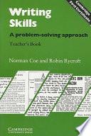 Writing Skills Teacher s Book