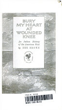 Bury My Heart At Wounded Knee Pdf/ePub eBook
