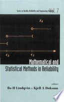 Mathematical and Statistical Methods in Reliability