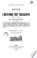 Revue De L Histoire Des Religions