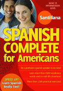 Complete Spanish for Americans