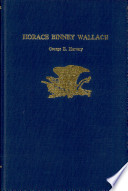 Ebook Horace Binney Wallace Epub George Egon Hatvary Apps Read Mobile