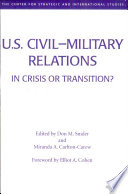 U S Civil Military Relations