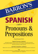 Spanish Pronouns and Prepositions