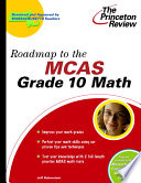 Roadmap to the Grade 10 MCAS Mathematics