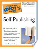 the complete idiot s guide to self publishing