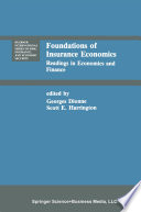 Foundations of Insurance Economics