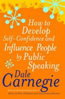 How To Develop Self Confidence   Influence People By Public Speaking