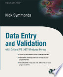 Data Entry and Validation with C  and VB  NET Windows Forms
