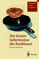 Die letzten Geheimnisse der Kochkunst