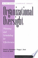 Organizational Oversight