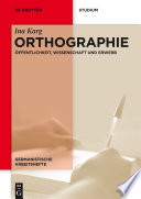 Orthographie
