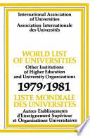 World List of Universities