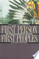 First Person  First Peoples