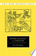 Shame and Guilt in Chaucer