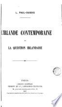 L Irlande contemporaine et la question irlandaise