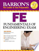 Barron s FE Fundamentals of Engineering Exam