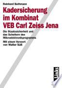 Kadersicherung im Kombinat VEB Carl Zeiss Jena