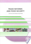 Trade Reforms and Food Security