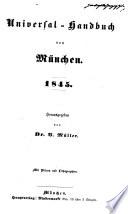Universal-Handbuch von München, 1845