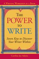download ebook the power to write pdf epub