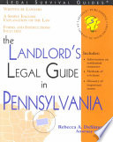 The Landlord s Legal Guide in Pennsylvania