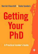 Getting Your PhD