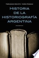 Historia de la historiograf  a argentina