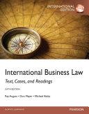 International Business Law  International Edition