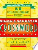 Simon and Schuster Crossword Puzzle Book