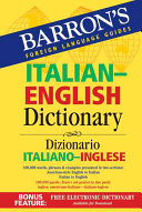 Barron s Italian English Dictionary