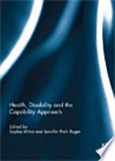 Health Disability And The Capability Approach