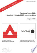 Renten auf einen Blick 2005 Staatliche Politik im OECD-Ländervergleich