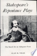 Shakespeare s Repentance Plays
