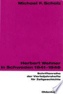 Herbert Wehner in Schweden