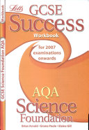 GCSE AQA Science Foundation Success Workbook