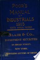 Poor s Manual of Industrials