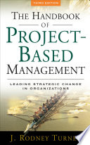 The Handbook Of Project Based Management : in any organization! one of...