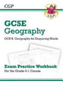 New Grade 9 1 GCSE Geography OCR B  Geography for Enquiring Minds   Exam Practice Workbook