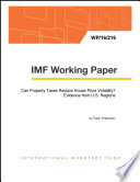 Can Property Taxes Reduce House Price Volatility  Evidence from U S  Regions