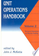 Unit Operations Handbook