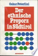 Der ethnische Proporz in S  dtirol
