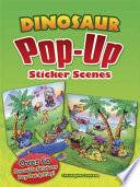 Dinosaur Pop Up Sticker Scenes