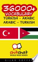 36000  Turkish   Arabic Arabic   Turkish Vocabulary
