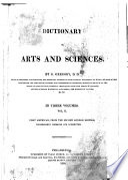 A Dictionary of Arts and Sciences Pdf/ePub eBook
