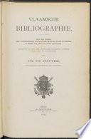 Vlaamsche bibliographie