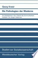 Die Pathologien der Moderne