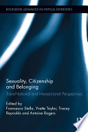 Sexuality  Citizenship and Belonging