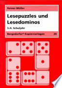 Lesepuzzles und Lesedominos