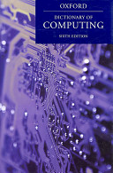 A Dictionary of Computing